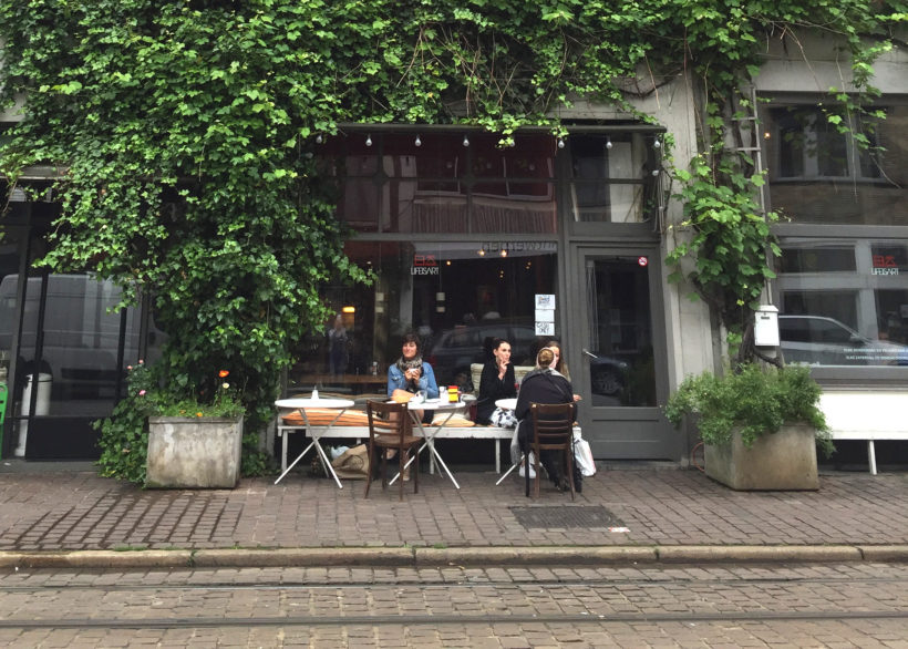 Lifeisart, a prefect place for breakfast in Antwerp