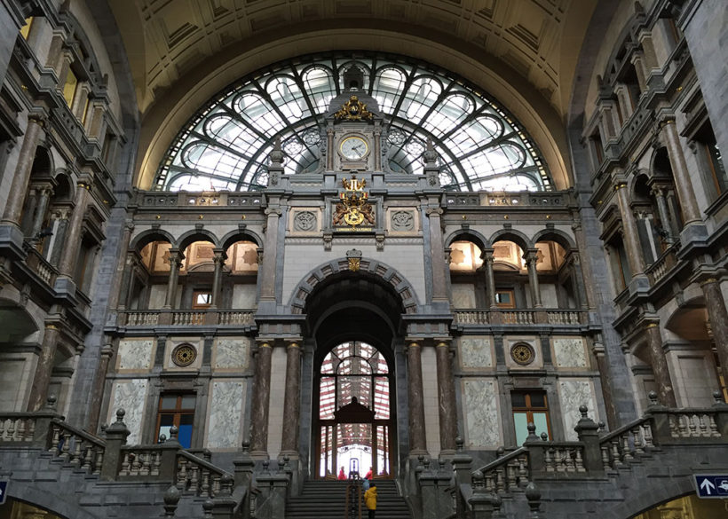 inside central station antwerp