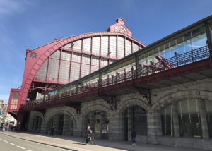 Antwerp Central Station, the first stop on our one day Antwerp tour