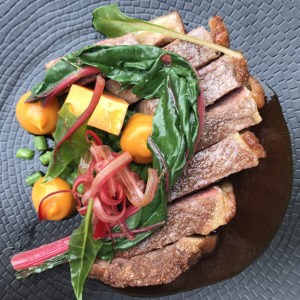 A dish of steak served at Ardent